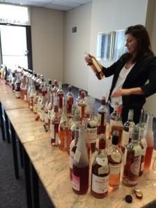 Rose tasting 2015